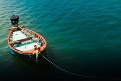 Praia de Hua- Hin. e barco, Fotos de Stock