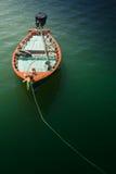 Praia de Hua- Hin. e barco, Foto de Stock