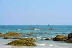 Praia de Huahin Fotos de Stock