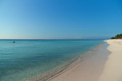 Praia no Playa del Carmen, México Fotos de Stock