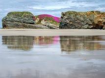 Praia de Illas Foto de Stock