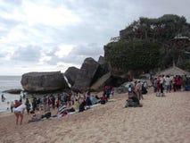 Praia de Indrayanti Imagem de Stock Royalty Free