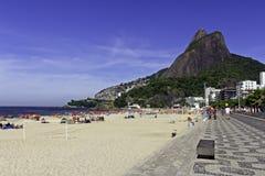 Praia de Ipanema Foto de Stock