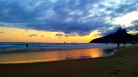 Praia de Ipanema Royalty Free Stock Photography
