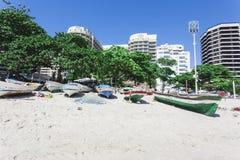 PRAIA DE IPANEMA, RIO DE JANEIRO, BRASIL - EM NOVEMBRO DE 2009: pesca b Imagem de Stock