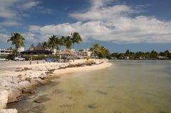 Praia de Islamorada, chaves de Florida fotografia de stock royalty free
