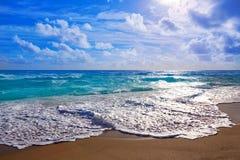 Praia de Island do cantor no Palm Beach Florida E.U. Fotos de Stock Royalty Free