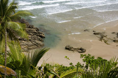 Praia de Itacaré Fotografia de Stock Royalty Free