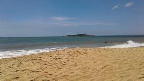 Praia de Itaparica fotografia de stock