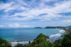 Praia de Jaco em Costa Rica Fotos de Stock Royalty Free