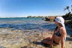 Praia de Jamaica Imagem de Stock