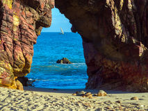 Praia de Jericoacoara Imagens de Stock