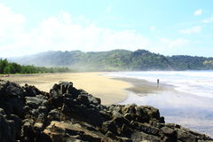 Praia de Jolosutro Imagem de Stock