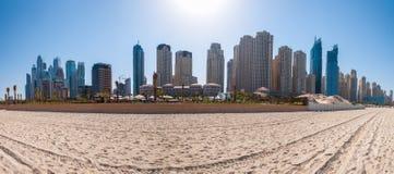 Praia de Jumeirah Fotos de Stock Royalty Free