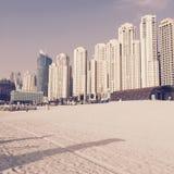 Praia de Jumeirah Foto de Stock Royalty Free