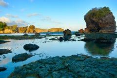 Praia de Jungwok Imagem de Stock Royalty Free