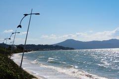 Praia de Jurerê - polis do ³ de FlorianÃ, Santa Catarina - Brasil Imagens de Stock