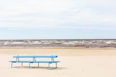 Praia de Jurmala Foto de Stock Royalty Free