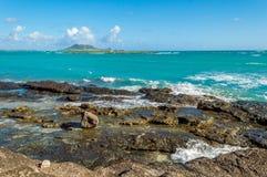 Praia de Kailua Fotografia de Stock Royalty Free