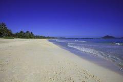 Praia de Kailua, oahu Foto de Stock Royalty Free