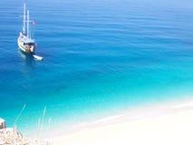 Praia de Kalkan Kaputas Fotos de Stock Royalty Free