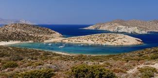 Praia de Kalotaritissa foto de stock