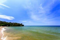 Praia de Kamala, phuket, Tailândia Foto de Stock Royalty Free