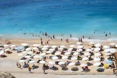 Praia de Kaputas Imagem de Stock