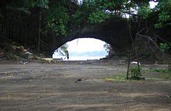 Praia de Karang Bolong Imagem de Stock Royalty Free