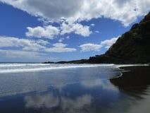 Praia de Kare Kare Foto de Stock
