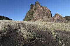 Praia de Karekare Foto de Stock Royalty Free