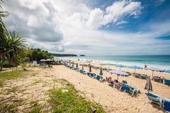 Praia de Karon Fotografia de Stock