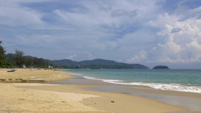 Praia de Karon, Phuket, Tailândia filme