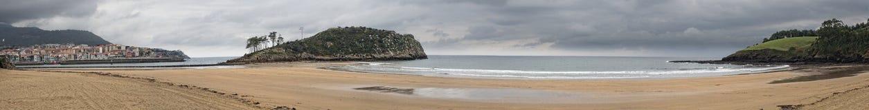 Praia de Karraspio Foto de Stock Royalty Free