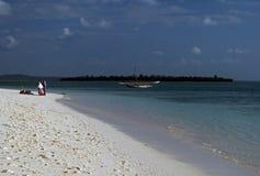 Praia de Kendwa fotos de stock royalty free