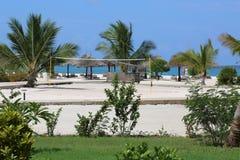 Praia de Kendwa Foto de Stock