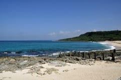 A praia de Kenting Fotos de Stock Royalty Free