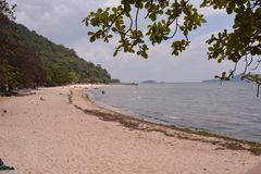 Praia de Kep - Camboja Fotografia de Stock Royalty Free