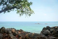 Praia de Khaolak Fotos de Stock Royalty Free