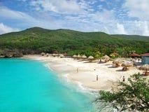 Praia de Knip, Curaçau Imagem de Stock Royalty Free