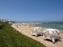 Praia de Knossos Fotos de Stock Royalty Free
