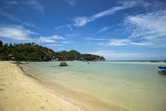 Praia de Koh Tao, Tailândia fotos de stock royalty free