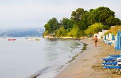 Praia de Koukla, Zakynthos foto de stock royalty free