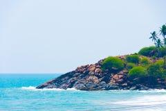 Praia de Kovalam Fotografia de Stock Royalty Free
