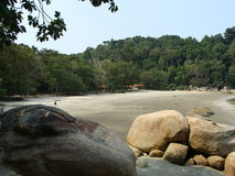 Praia de Kuantan Imagens de Stock Royalty Free