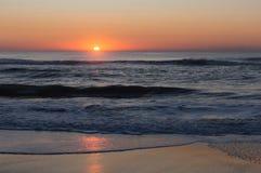 Praia de Kure, North Carolina foto de stock royalty free