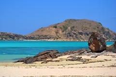 Praia de Kuta em Lombok Foto de Stock Royalty Free