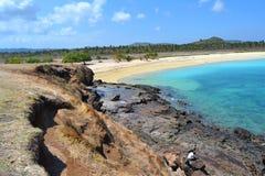 Praia de Kuta em Lombok Imagens de Stock