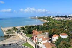 Praia de La Rochelle, França Imagem de Stock