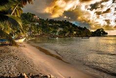 Praia de Laborie imagens de stock royalty free